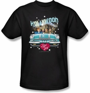 Lucy Shirt - Hollywood Road Trip Adult Black T-shirt