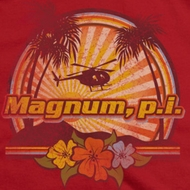 Magnum P.I. Sunset Shirts