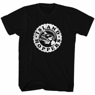 Magnum PI Shirt Island Hopper Bottle Cap Black T-Shirt