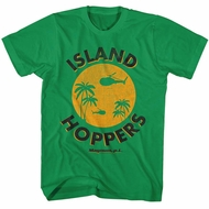 Magnum PI Shirt Island Hopper Kelly Green T-Shirt