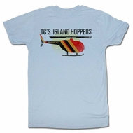 Magnum PI Shirt Island Hoppers Light Blue T-Shirt