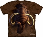 Mammoth Shirt Tie Dye Head T-shirt Adult Tee