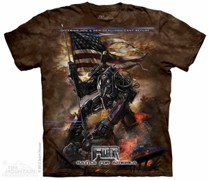 Mecha FDR Shirt Tie Dye Adult T-Shirt Tee