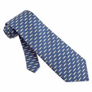 Mini Alligators Silk Tie Necktie - Men's Animal Print Neck Tie