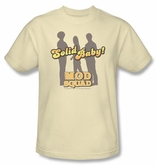 Mod Squad Kids Shirt Solid Mod Youth Cream T-Shirt