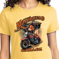 Motorhead Garage Ladies Biker Shirts