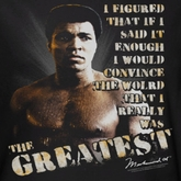 Muhammad Ali Convince The World Shirts