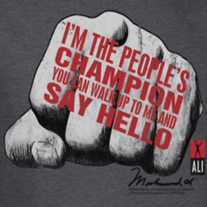 Muhammad Ali Say Hello Shirts