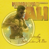 Muhammad Ali Shirt Mericah Adult Yellow Tee T-Shirt