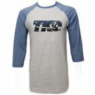Muhammad Ali Shirt Raglan TKO Grey/Blue Shirt