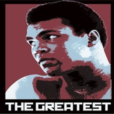 Muhammad Ali Shirt The Greatest Time Adult Dirty White Tee T-Shirt