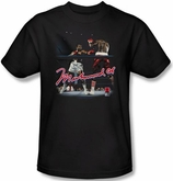 Muhammad Ali T-shirt Adult Ring Master Black Tee Shirt