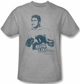 Muhammad Ali T-shirt Adult Sting Like A Bee Athletic Heather Tee Shirt