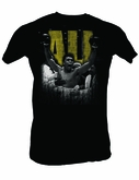 Muhammad Ali T-shirt Adult Super Ali Black Tee Shirt