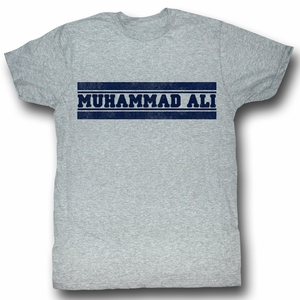 Muhammad Ali T-shirt ALI Gym Adult Heather Grey Tee Shirt
