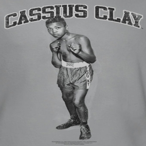 Muhammad Ali Young Cassius Shirts