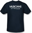 Musician Shirt - Funny Adult Navy Blue Tee