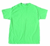 Neon Geen Bright Colorful Youth Kids Unisex T-Shirt Tee Shirt