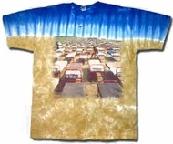 Pink Floyd T-shirt - Momentary Lapse Beds Tie Dye Tee