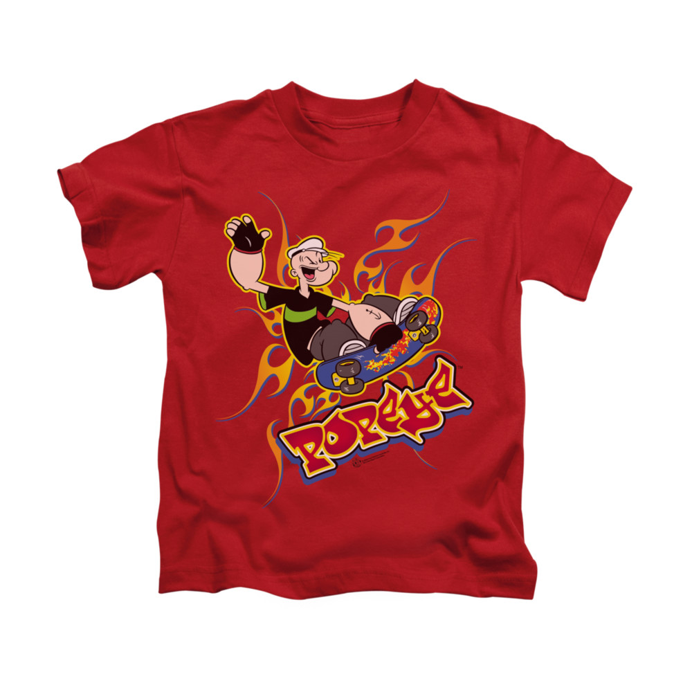 popeye shirt get air kids red youth tee t shirt popeye. Black Bedroom Furniture Sets. Home Design Ideas