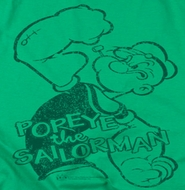 Popeye Spinach Strong Shirts