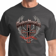 Prayer Warrior Mens Biker Shirts