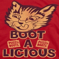 Puss N Boots Boot A Licious Shirts