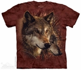 Red Wolves Shirt Tie Dye Adult T-Shirt Tee