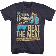 Rocky Shirt Beat The Meat Charcoal Heather T-Shirt