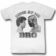 Rocky Shirt Come At Me Bro White T-Shirt