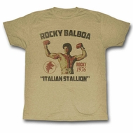 Rocky Shirt Flexing Sand T-Shirt