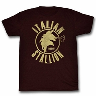 Rocky Shirt Italian Stallion Brown T-Shirt