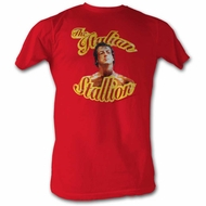 Rocky Shirt Italian Stallion Red T-Shirt