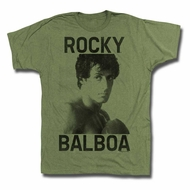 Rocky Shirt Ready To Box Army Green T-Shirt