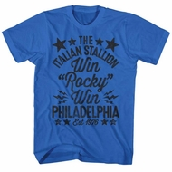 Rocky Shirt Win Rocky Win Royal T-Shirt