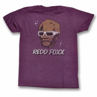 Sanford & Son Shirt A Star Maroon T-Shirt