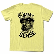 Sanford & Son Shirt For A Dummy Light Yellow T-Shirt