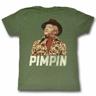Sanford & Son Shirt Pimpin Military Green T-Shirt