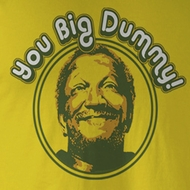 Sanford & Son Shirt Vintage Dummy Adult Yellow Tee T-Shirt