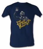 Sanford & Son T-shirt Redd Foxx Coming to Join Ya Honey Navy Tee Shirt
