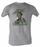 Sanford & Son T-shirt Redd Foxx Dolla Holla Athletic Heather Tee