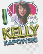 Saved By The Bell I Love Kelly Shirts