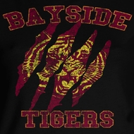 Saved By The Bell Juniors Shirt Bayside Claws Black Tee T-Shirt