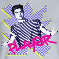 Saved By The Bell Juniors Shirt Player Silver Tee T-Shirt