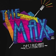 Saved By The Bell Juniors Shirt The Max Black Tee T-Shirt