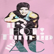 Saved By The Bell Juniors Shirt Turn It Up Pink Tee T-Shirt