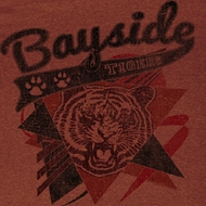 Saved By The Bell Shirt Sharp Tiger Adult Brown Heather Tee T-Shirt