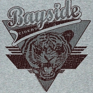 Saved By The Bell Shirt Tiger Pride Adult Grey Tee T-Shirt