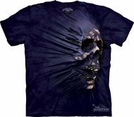 Skull Shirt Tie Dye Sideskul Breakthrough T-shirt Adult Tee