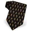 Sock Monkey Silk Tie Necktie - Men's Animal Print Neck Tie